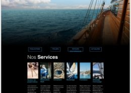 Yacht Project Creation de Site Web Wordpress