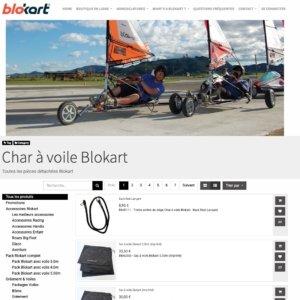 Char à voile Blokart